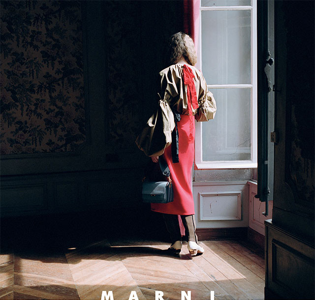 This is what Marni's new campaign looks like