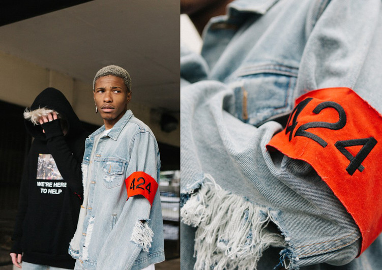 """424 on Fairfax's SS16""""Americanism"""" collection"""