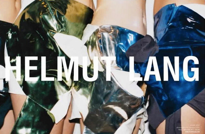 A Helmut Lang archive sale is happening