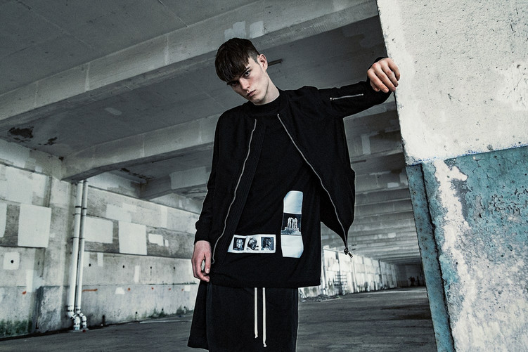 Rick Owens' DRKSHDW goes industrial for SS16