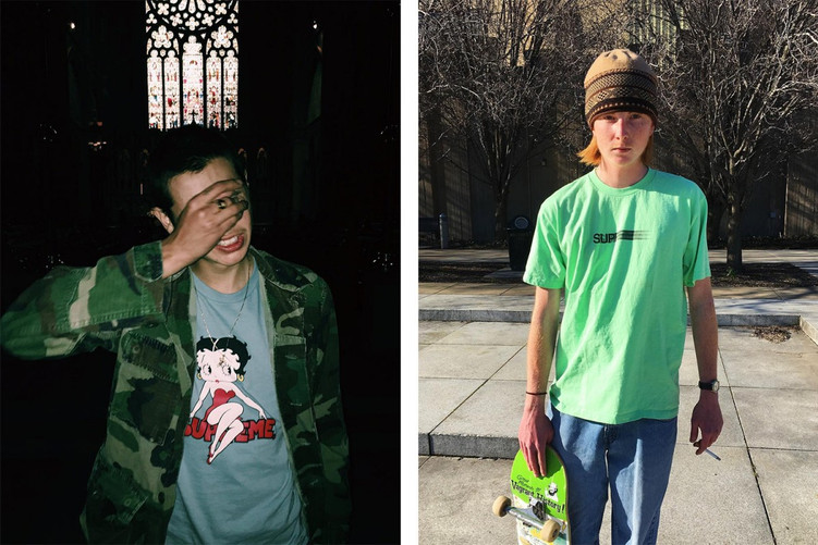 This is what Supreme's next t-shirt drop looks like