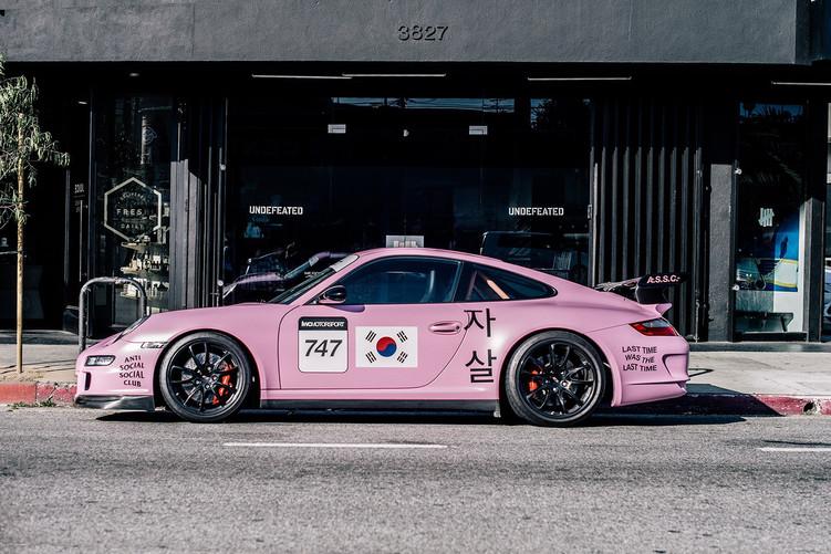 Meet Anti Social Social Club's 'Porsche' mascot