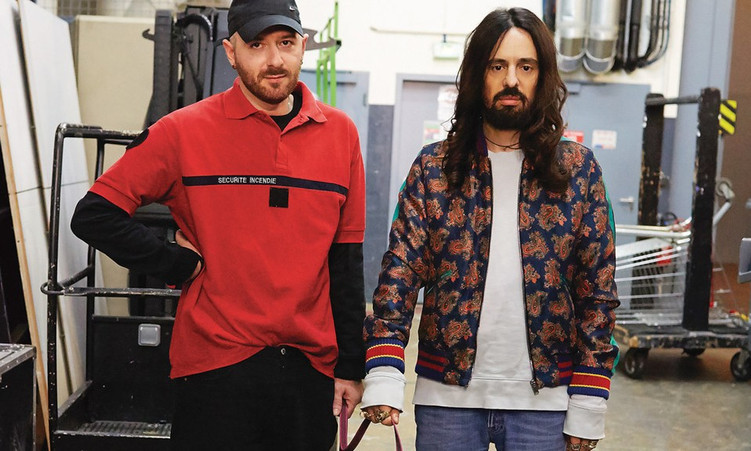 In conversation with Demna Gvasalia and Alessandro Michele