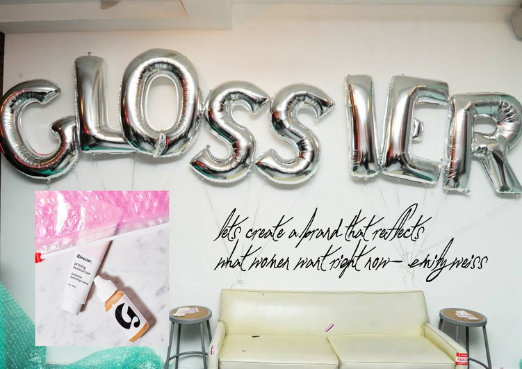 How not to look basic: The Glossier Edit