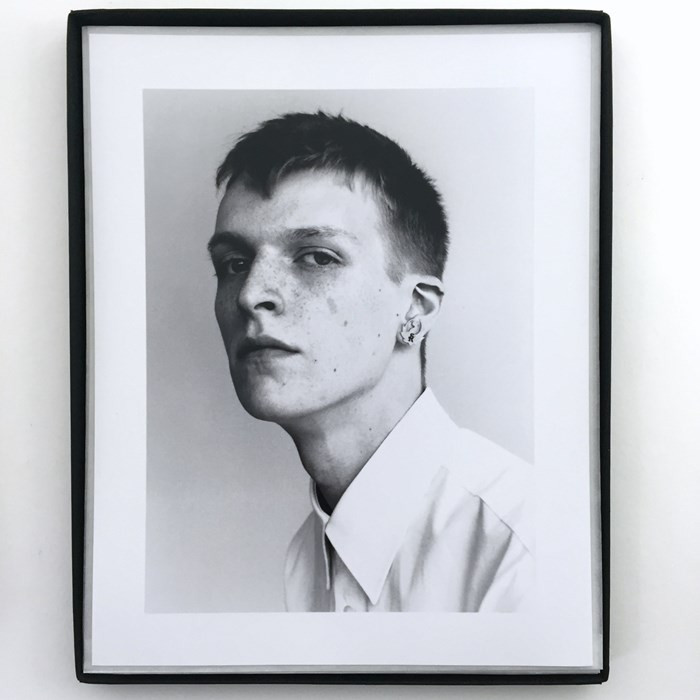 10 works for Raf Simons by Willy Vanderperre