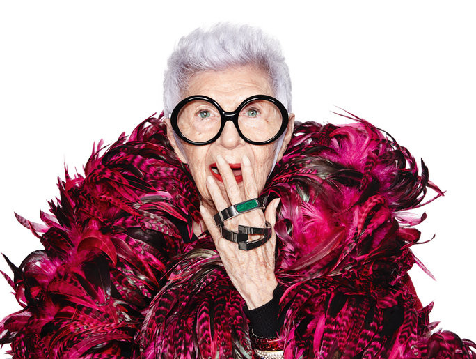 Iris Apfel launches wearable tech collection