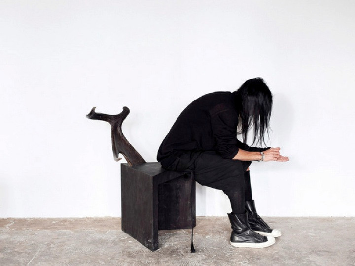 At home with Rick Owens