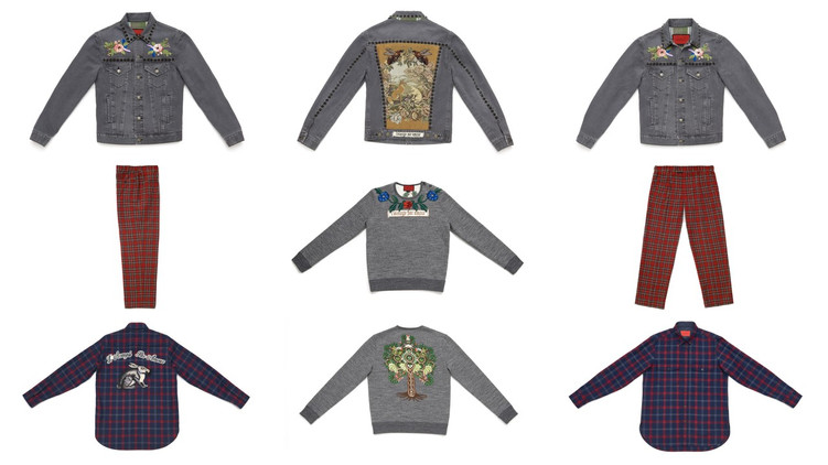 This is what Gucci x Dover Street Market looks like