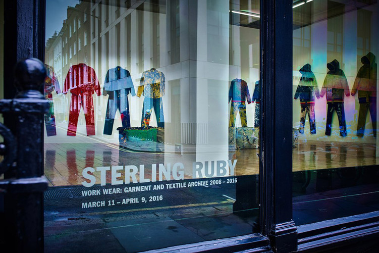 Inside Sterling Ruby's clothing archive in London