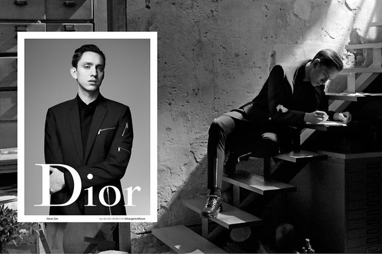 The XX singer fronts new Dior Homme campaign