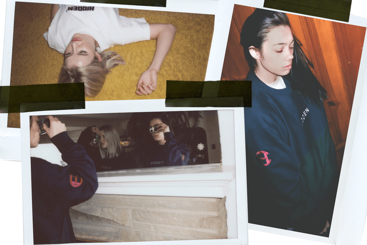 HIDDEN CHARACTERS' SS16 youth-driven lookbook