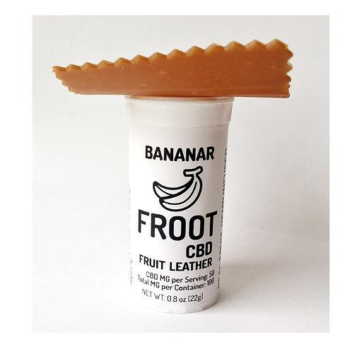 100 mg CBD Bananar FROOT Leather