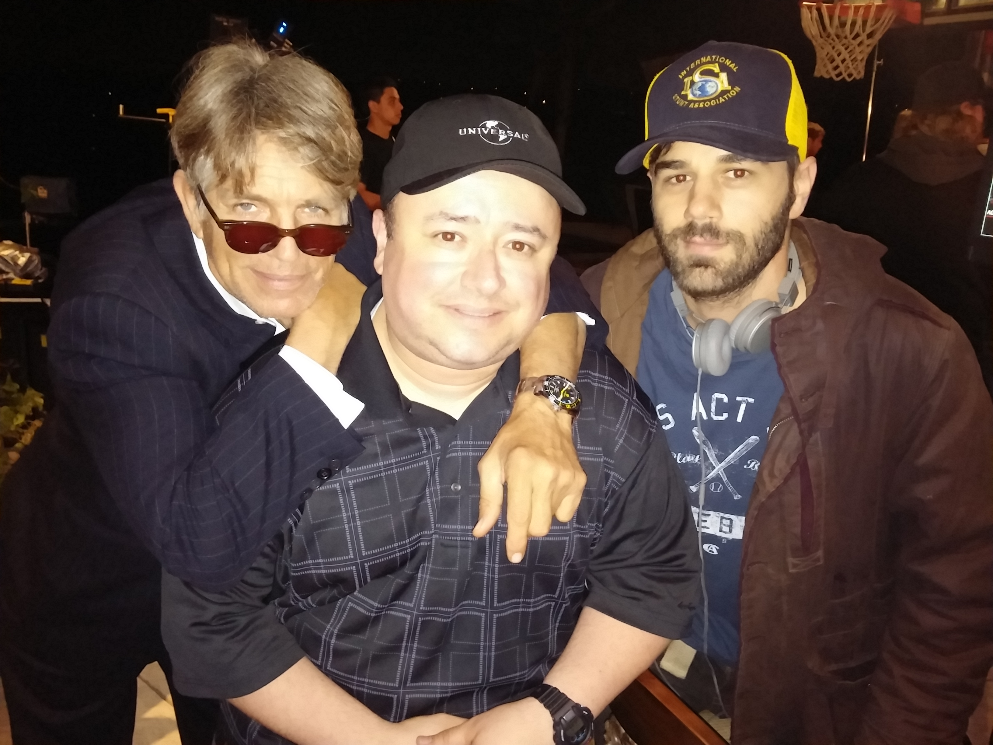 Eric Roberts, Gabe, Jared Cohn.