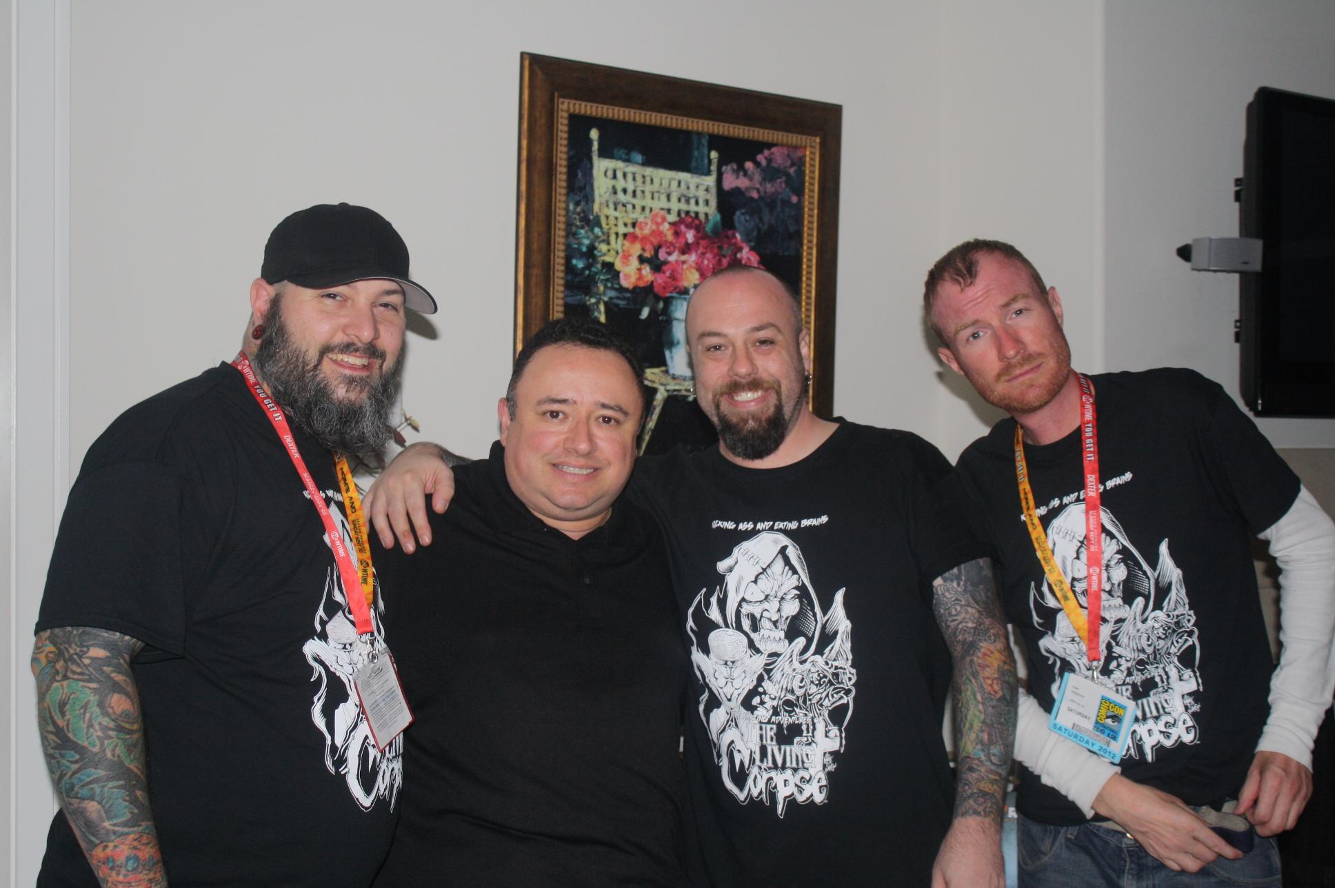 Buz, Gabe, Ken, Ryan - LIVING CORPSE
