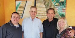 Gabe, Whitley Strieber, Steve Neill, Mary Cacciapaglia.