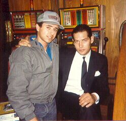 Gabe, James Remar.