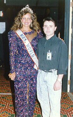 Lucila Boggiano at Mrs. World Pageant.