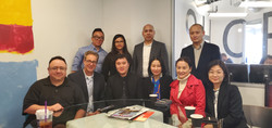 Meeting with Chinese motion picture executives and government officials.