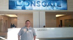 Gabe meeting Jon Feltheimer at Lionsgate.