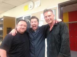 Gabe, Nick Swardson, Steve Hanks.