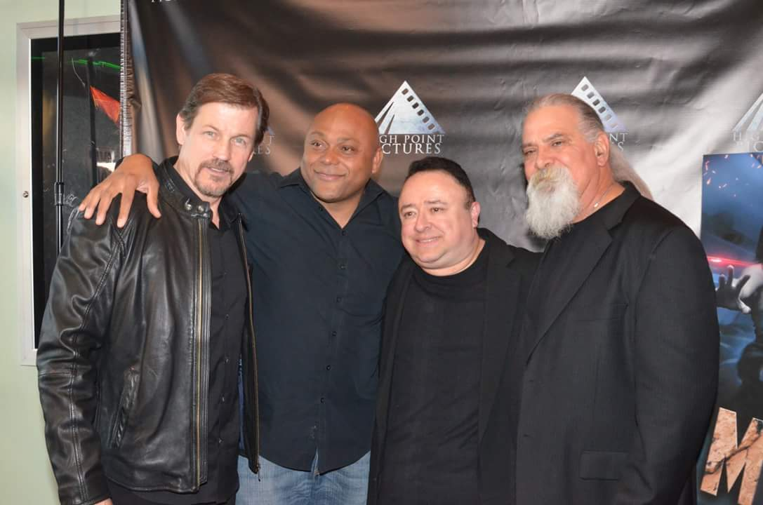 Michael Pare, Larry Layfield, Gabe, Scott Engrotti.