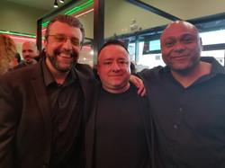 Max Cerchi, Gabe, Larry Layfield.