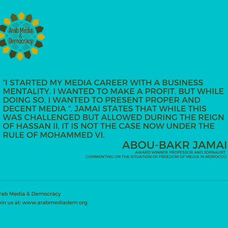 Between zombie media and repression, no hope for change in Morocco Interview with Abou Bakr Jamai