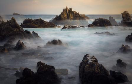 Rough Seas, Rugged Coast