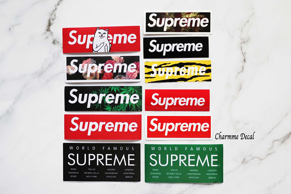 Supreme Stickers | Supreme