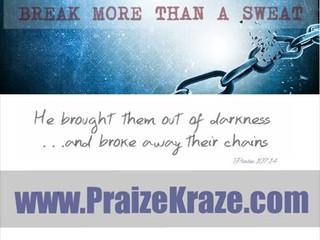 At Praize Kraze®, You'll Break More Than A Sweat!