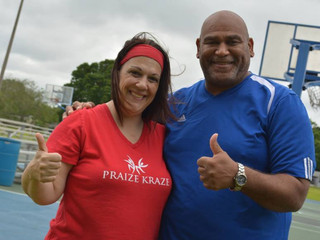 Yes...Men Can Attend Praize Kraze Classes!!!
