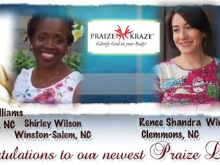 Welcome to the Praize Kraze® Family: Renee, Gloria, Charlotte and Shirley!!!