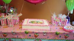 Shopkins Birthday Set-up
