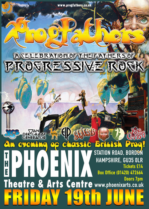 PROGFATHERS BACK IN LEICESTER!