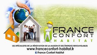 Depliant France Confort Habitat face cen