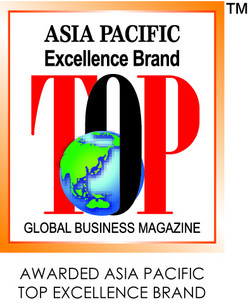 AWARDED ASIA PACIFIC TOP EXCELLENCE BRAND