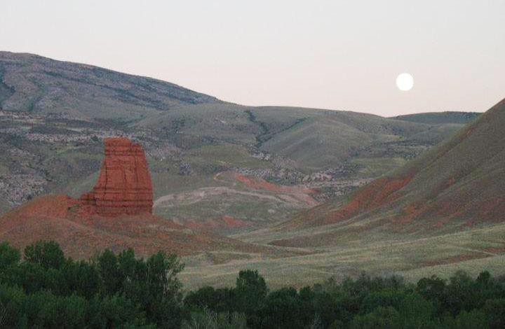 Chimney Rock, Shell Wyoming