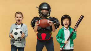 Football, Baseball, Soccer and Basketball Themed Party