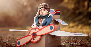 Come Fly with Me! Vintage Airplane Birthday Party