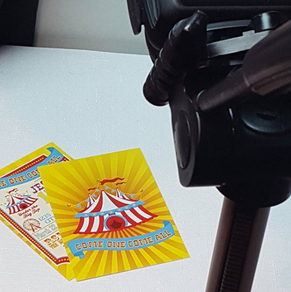 Printed Carnival Party Invitations