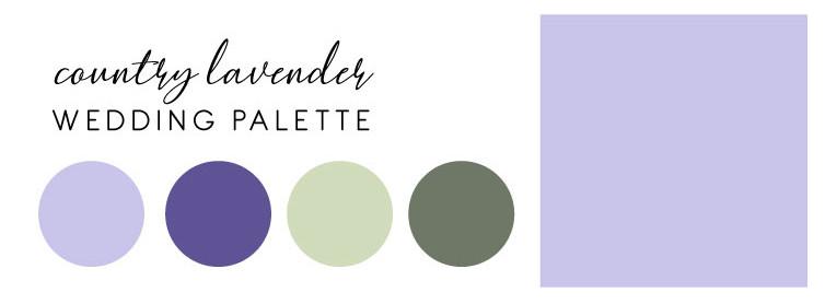 Country Lavender Color Palette