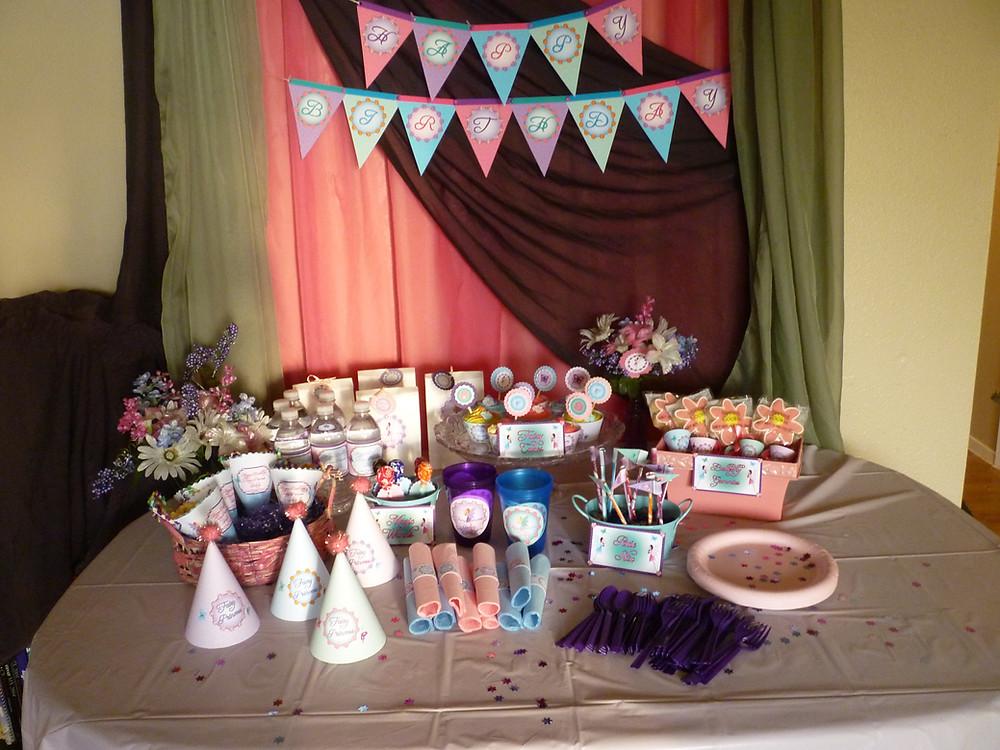 Party Kit Set-up