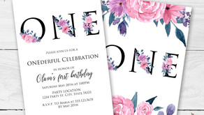 Floral First Birthday Idea, Perfect for a Garden Party!