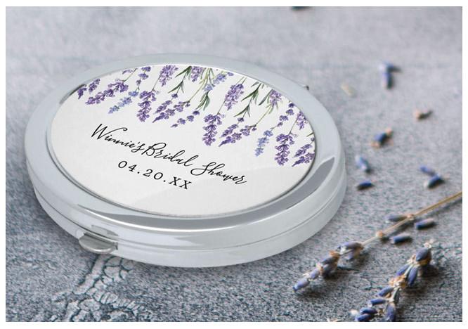 Lavender Makeup Mirror