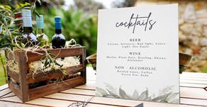 Amazing Wedding Ideas   Midnight Botanical Invitations and Decor