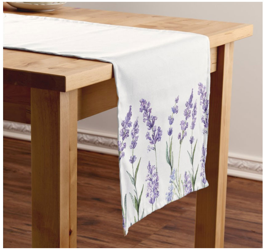 Country Lavender Table Runner