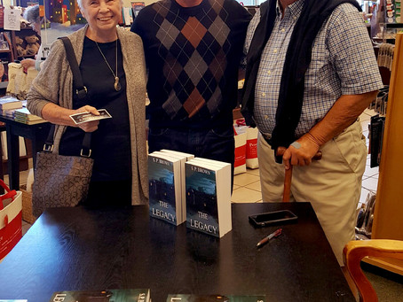 Thank you Destin! S.P. has the writing & the signing