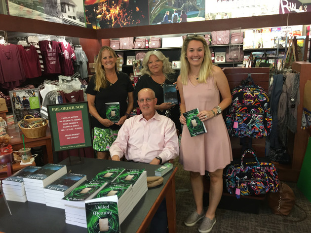 Veiled Memory Book Signing