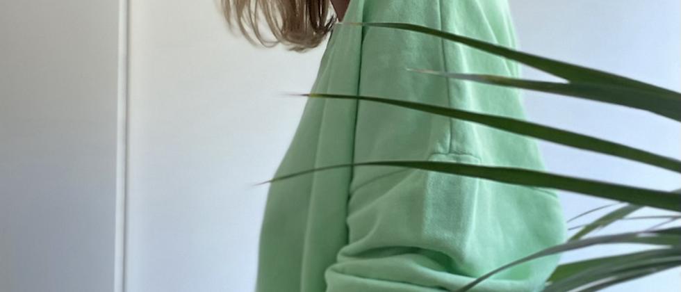 Sweater oversized groen Am.vintage