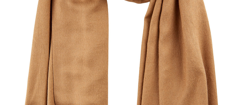 S39794 sjaal Numph in camel
